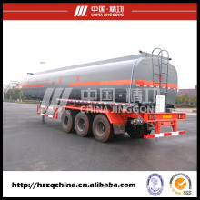 Chemical Tanker Trailer, Liquid Tank Semi-Trailer (HZZ9403GHY) for Delivering Liquid Nitrogen