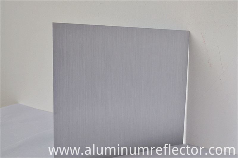 brushed aluminum finished specification
