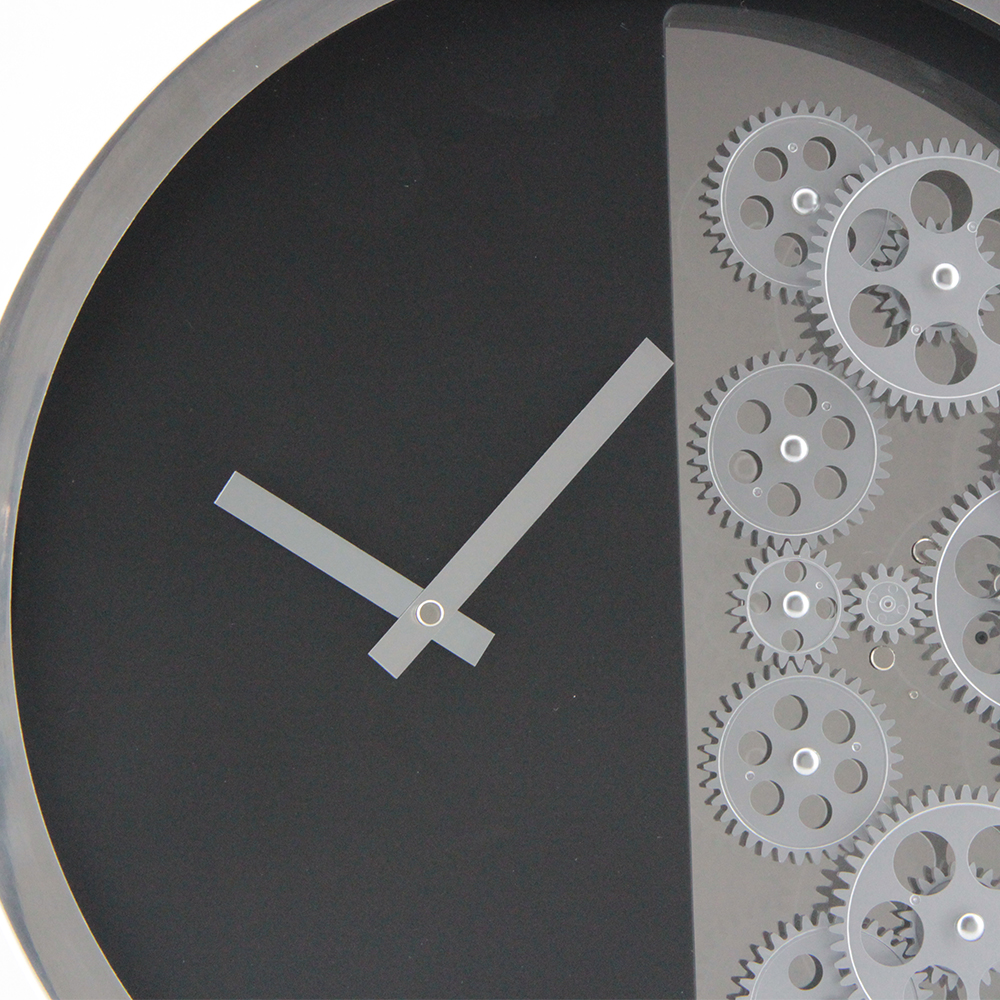 Clock With Exposed Gears