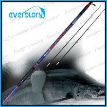 Dois, ponta, seção, luz, barco, vara, pesca, vara