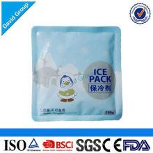 Сертифицированный алибаба Топ 1 Поставщик горячий продавать гель пакет со льдом