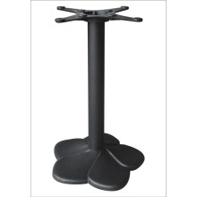 Restaurant Flower Designed Iron Table Base