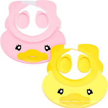 Adjustable Baby Shower Cap Visor Silicone Baby Bathing Hat Waterproof Shampoo Cap for Children Toddler Girls Boys