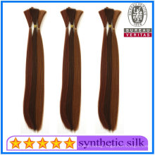 High Quality Straight Synthetic Braiding Hair Raw Hair for Hair Extensions Hair Products