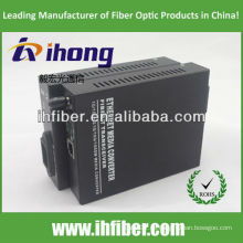 10/100 / 1000M Fiber Optic Media Converter Multimode Dualfaser ST Port