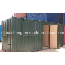 20ft Site Canteen / Mess Unit Containers with Colourful Painting (shs-fp-kitchen&dining007)