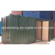 20 футов контейнера для столовой / сундука с красочной живописью (shs-fp-kitchen & dining007)