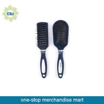 2015 stylish plastic hairbrush set
