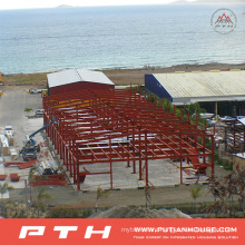 Steel Structure Building as Prefabricated Warehouse