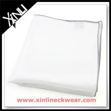 Colored Rolled Hem Ladies Plain Cotton Handkerchiefs
