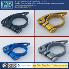 China high precision custom hot sale bicycle seat post clamp