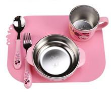 Silicone Power Chuck Pad de repas-Pad de repas pour enfants