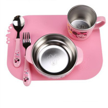 Silicone Power Chuck Meal Pad-Children Meal Pad