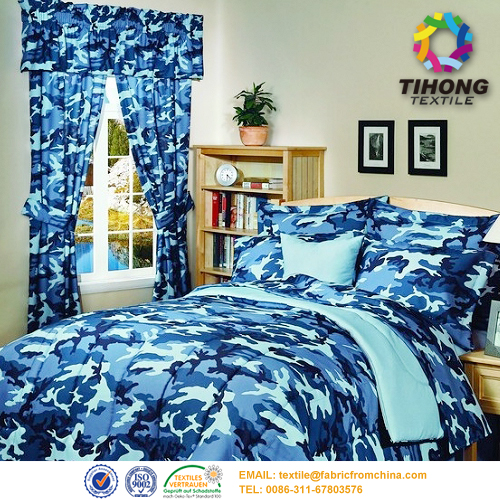 camouflage bedding Fabric