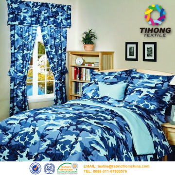100% cotton camouflage print military uniform fabric