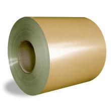 Ширина 25-2000 мм PE PVDF Предварительно окрашенная катушка с алюминиевым покрытием