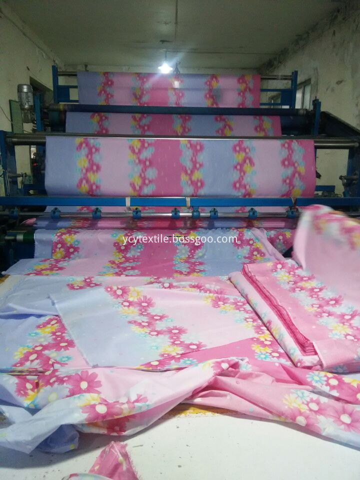 TC 65 35 Printed Fabric