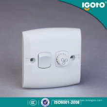 Igoto E135-F  British Standard 1gang Fan Speed Controller  Wall Switch/Waterproof Wall Switch/Switch