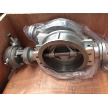 JIS 10k Ss304 Wafer Butterfly Valve
