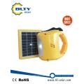 Lanterna solar portátil com LEDs