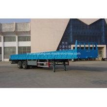 Semi-remorque à conteneur à deux essieux 40FT ou cargaison