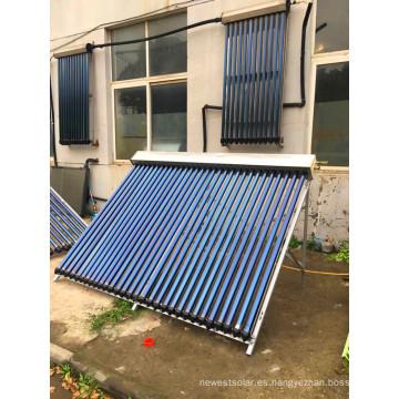 Colectores solares de presión de tubería de calor