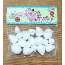 wholesale party decorative Suppliers Styrofoam Egg /Styropor / Styrofoam