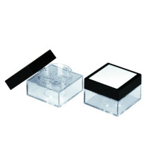 Cas de conteneurs poudre, poudre libre professionnel manufacture cosmétique