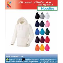 Großhandel einfarbige Hoodies billiger Hoodie benutzerdefinierter Hoodie