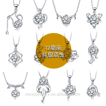 2015 Anhänger Halskette Schmuck aus Sterlingsilber
