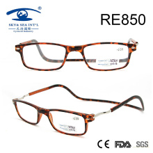 2017 New Patch Fashion Plastic Magnetic Reading Glasses (RE850)