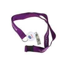Wholesale Business ID Card Safe Lock Lanyard Promotion