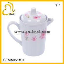 fashion design melamine pot with lid