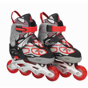 Adjustable skating shoes for children