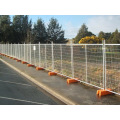 Temporary Fence in Hot-Dipped Galvanized with Good Quality