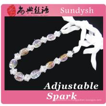 мода bling кристалл последние дизайн бусины ожерелье