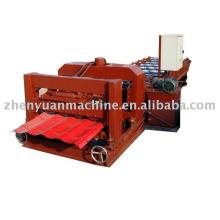 Rollo de la máquina de formación, esmalte frío rollo de baldosa formando la máquina, cubierta de cubierta rodadura anterior