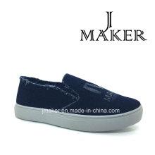 Boa qualidade bom preço de sapatos de desporto chineses Canvasjm2029-L