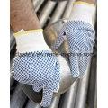 Нейлон машинного вязания перчатки с ПВХ точками Palm (S5103)