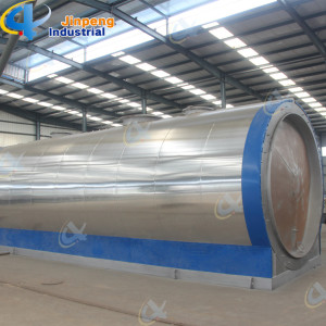 Effcient Condensators Plastic Oil Recycling Machine