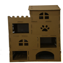 Good Quality for China Primary Color Corrugated Paper Cat House,Cardboard Cat House,Corrugated Cat House,Assembled Cat House Exporters Cardboard play and House of cat supply to Iceland Manufacturers
