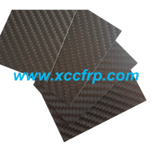 High quality 3K Twill matte Size 400*500mm Prepreg carbon fiber plate 8mm
