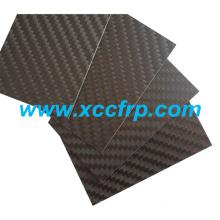 High quality 3K Twill matte Size 400*500mm Prepreg carbon fiber plate 8mm