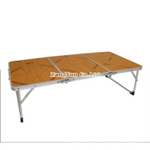 Tabela de piquenique de dobramento portátil ao ar livre, mesa de acampamento