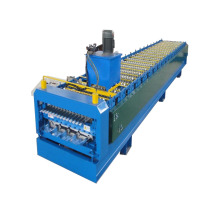 Double Deck Aluminum Panels Roll Forming Machine