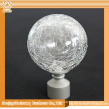 8/10/13/16/19/22/25/28mm Crystal Glass Decorative Window Ball Curtain Finials