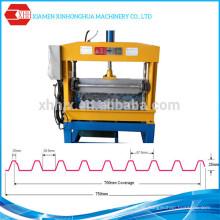 Metall-Bedachungsplatte Automatische hydraulische Crimp-Biegemaschine