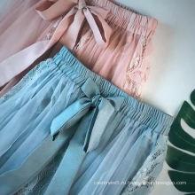 Женская юбка Sweet and Temperament Юбка с пузырьковой вышивкой