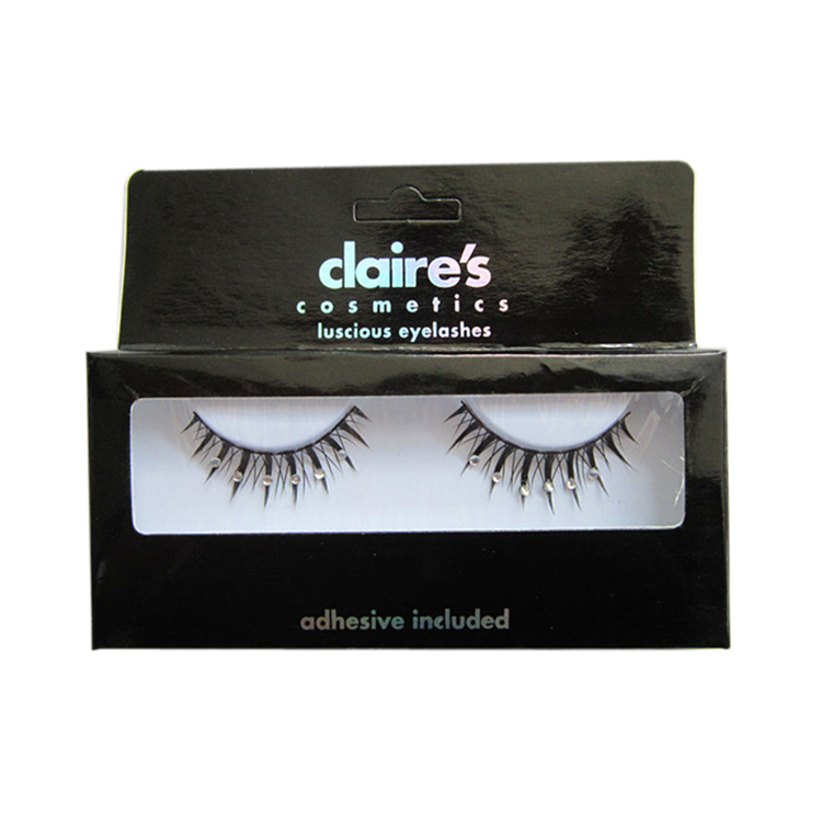 Cardboard One Pair False Eyelash Display Box