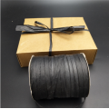 High quality  black paper raffia ribbon